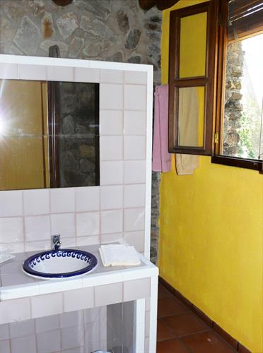 The second bathroom with shower (no toilet)