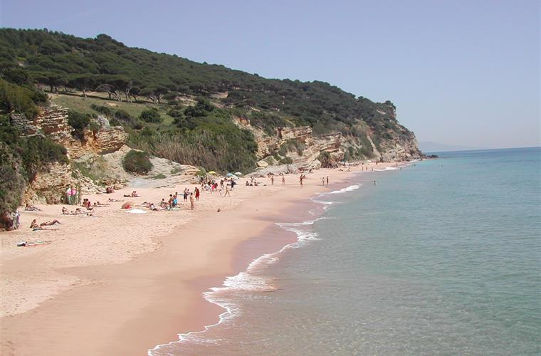 Natural Park and beach in Caños de Meca.