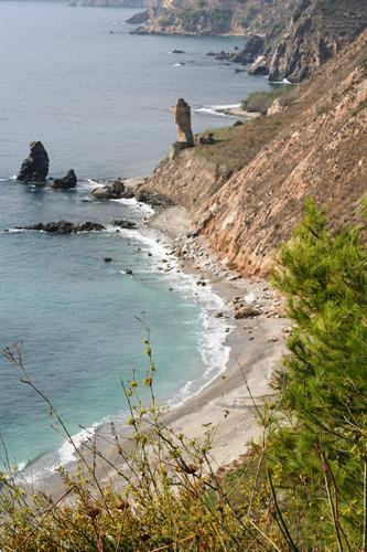 dramatic coastline along the Costa Tropical beyond Nerja
