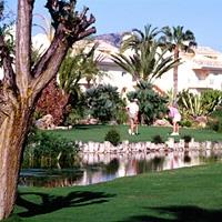 The golf course at la Manga Club