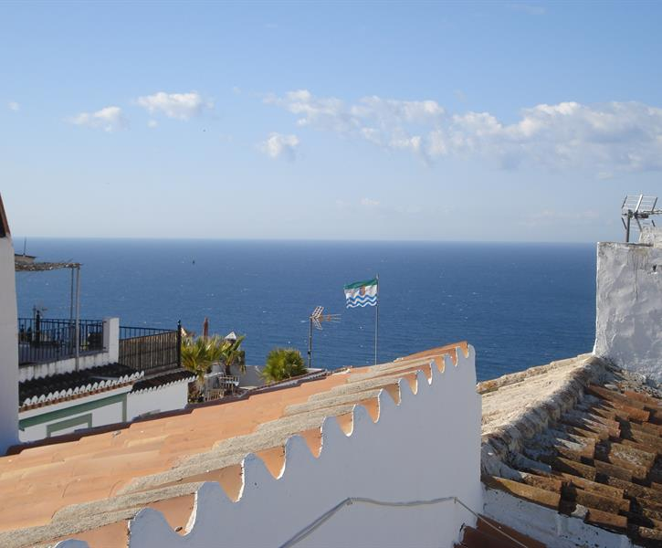 view from upper terrace towards the sea