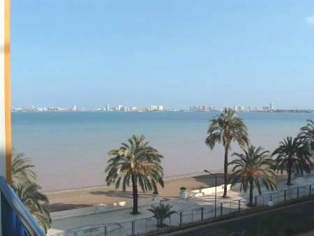 View over Mar Menor to La Manga town