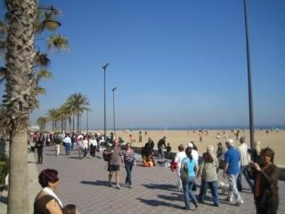 Beach promenade 500 meters from apartment
