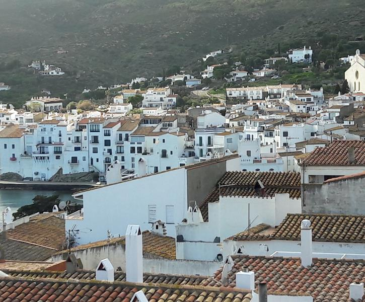 View of Cadaqués from the terrace