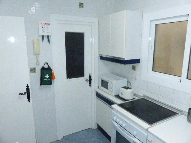 Kitchen with door to Utility Room (Nov 2017)