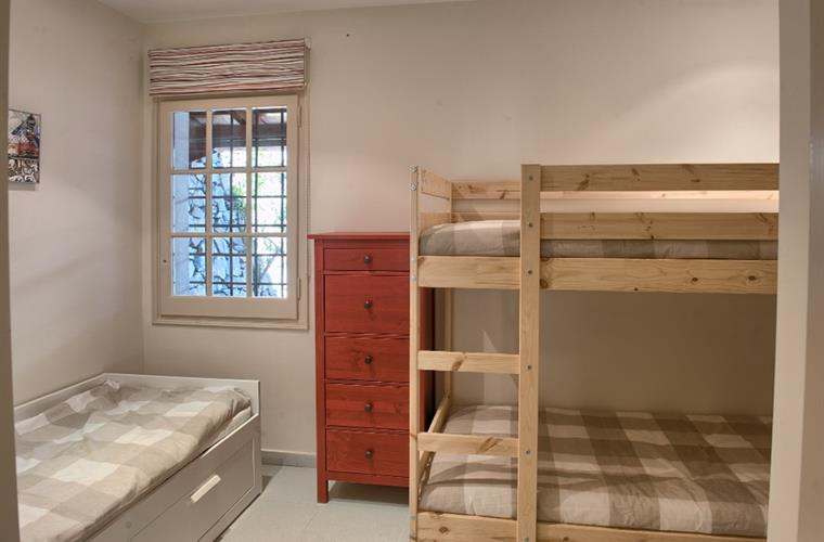 Bunkbedroom with extra bed