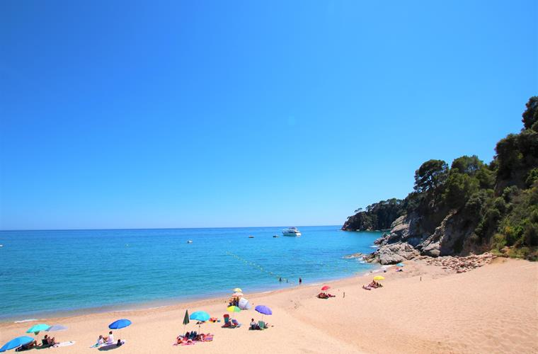 Beach 300 meters from the villa