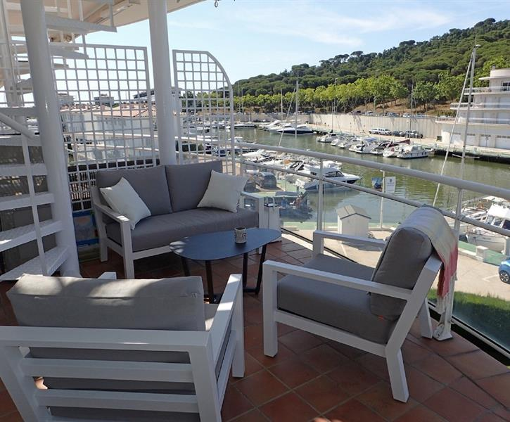 Apartment port d´aro with comunity garden and pool