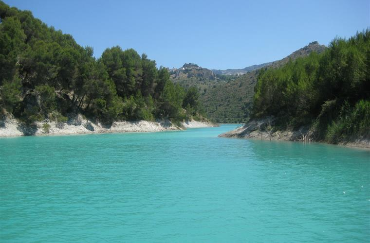 Guadalest resevoir