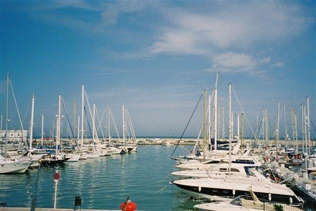 The Marina at Estepona Port.