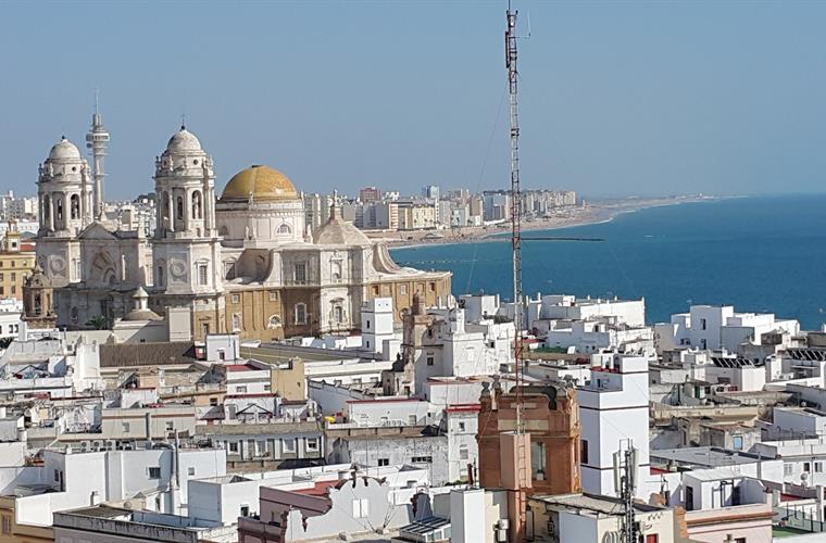 Cadiz 3000 years old the view from Torre Tavira