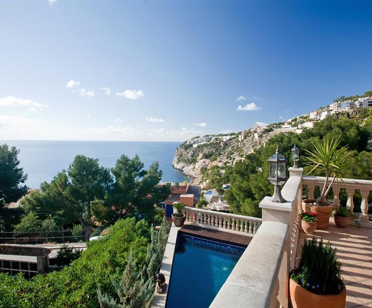 Stunning views over Cala Llamp..