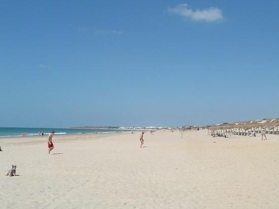 La Barrosa, a beautiful Blue Flag beach in Chiclana de la Frontera