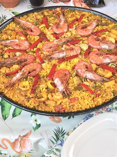 Fantastic paella! A must have in Spain
