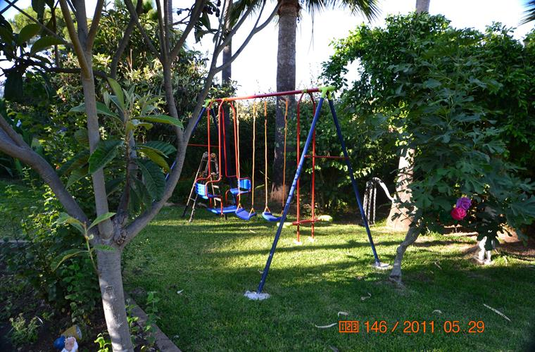 Swingset for the children