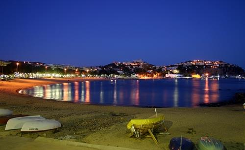 Nearby Sant Feliu beach