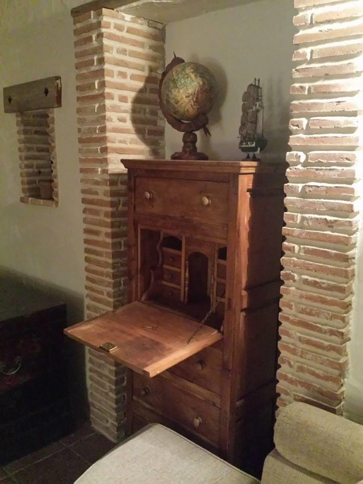 Spanish style writing desk