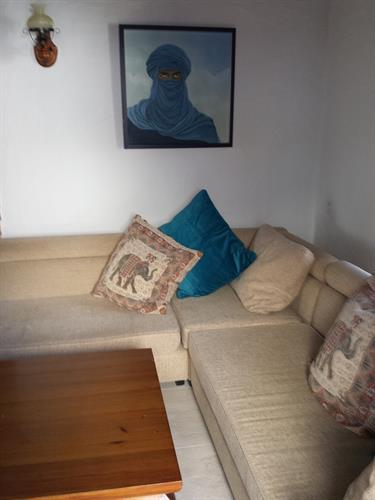 Large L shape sofa