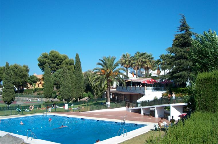Common pool area 800 Mtr. away from the house, tennis, restaurant
