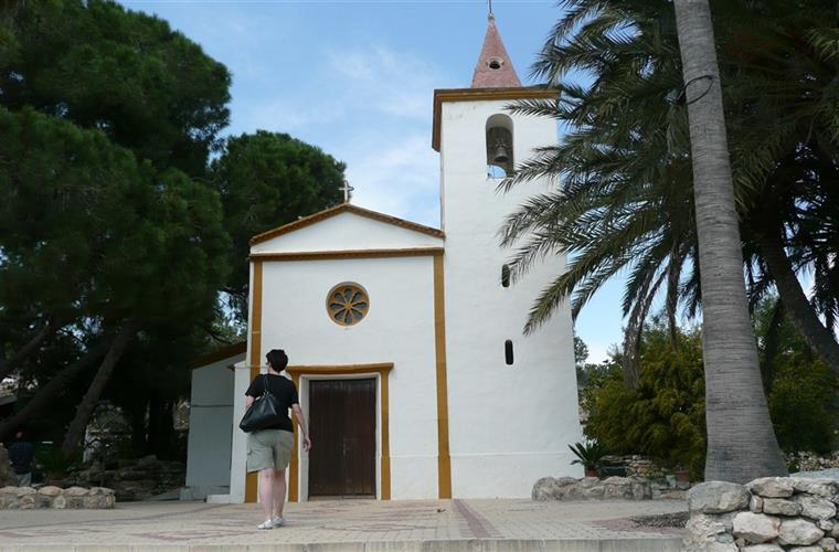 A typical Spanish church