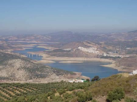 The Lake at Iznajar