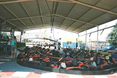 Go-Karting at Orihuela Costa