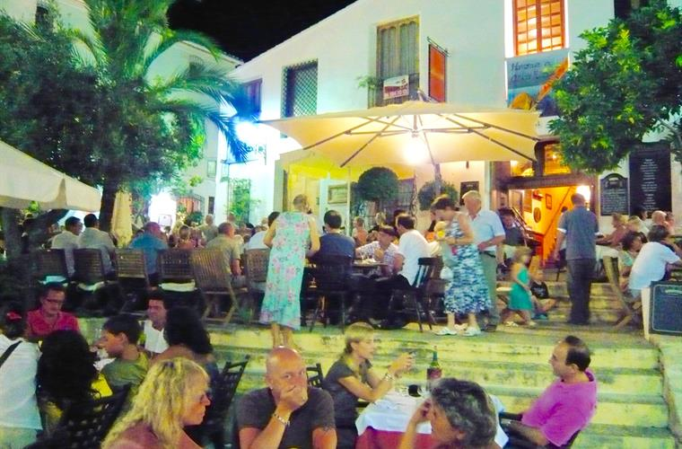 Dining in the Old Town of Altea