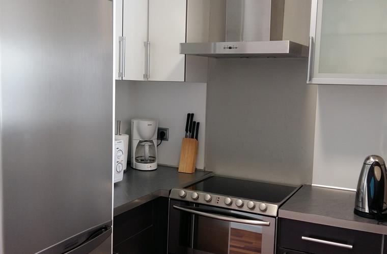 Kitchen of the apartment with 2 bedrooms