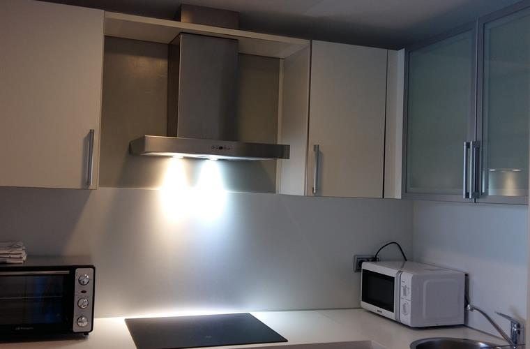 Kitchen of the apartement with 3 bedrooms