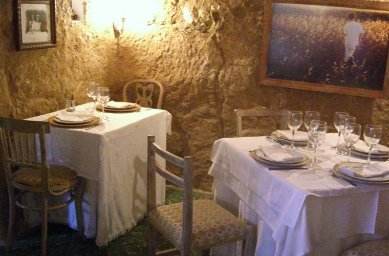 Cave restaurant in San Miguel
