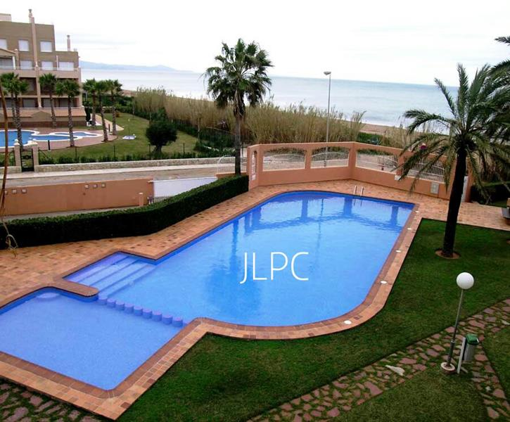 LARGE SWIMMING POOL - VIEW FROM THE APARTMENT ITSELF