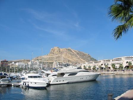 Alicante harbour...a great place to sightsee!