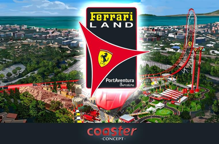 Ferrari Land, near Villa Regine