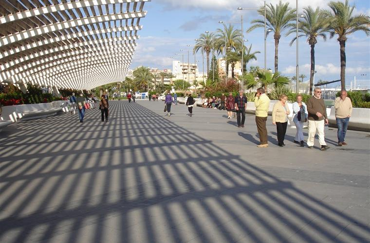 Sights in town of Torrevieja
