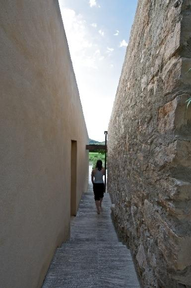 Patios and narrow alleys, just like in the villages of Mallorca