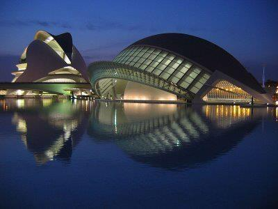 The old city of Valencia is just an hour drive from the house.
