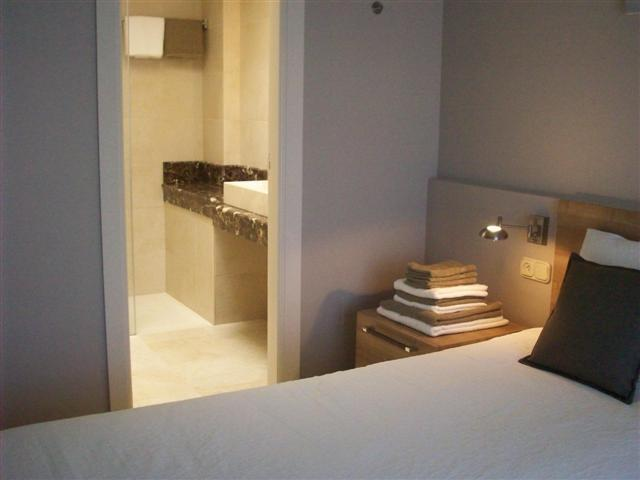 bedroom 1 with en-suite bathroom