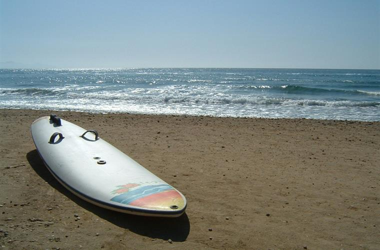 All kinds of watersports are possible on the Costa Calida.