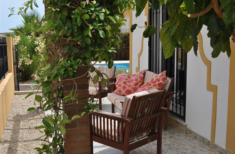 Casa Mediterraneo has a lot of nice terraces around the villa.