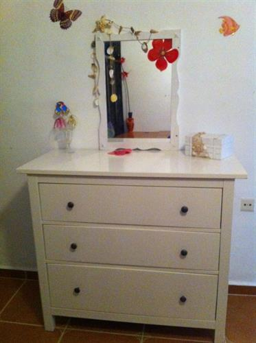 Chester drawers in the Hawaii room - the 22m2 bed room.