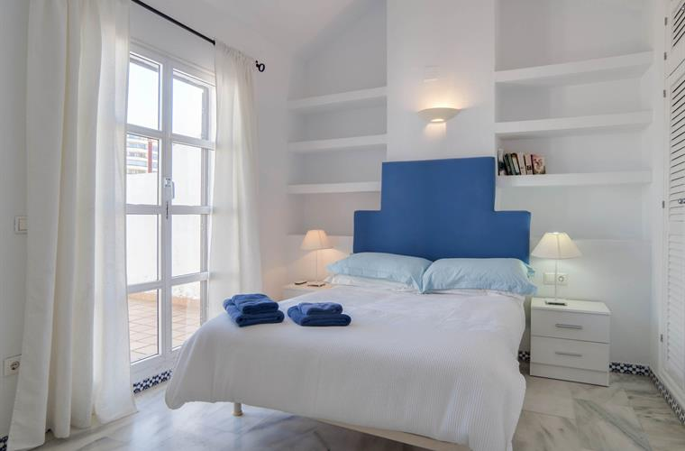 Bedroom 3. Private terrace. Sea and mountain view