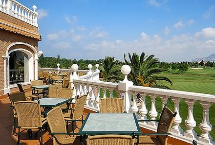 Club House Balcony ...Great For Lunch