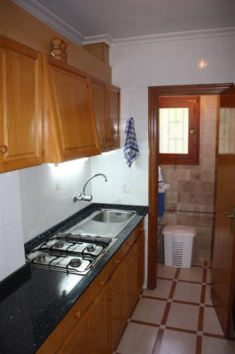 Kitchen in apartment 1