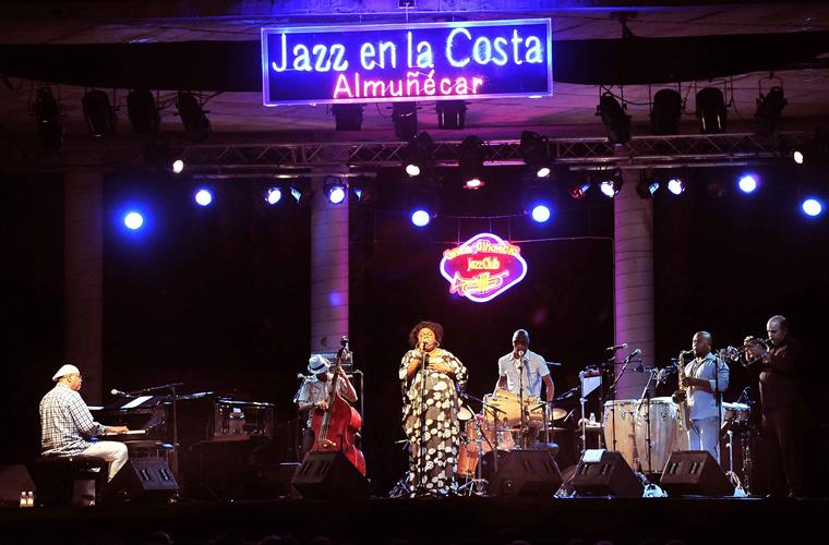 Jazz on coast every year on July