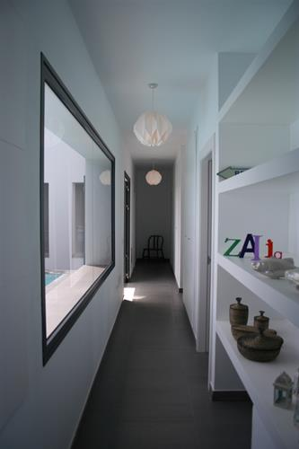 Hallway to bedrooms