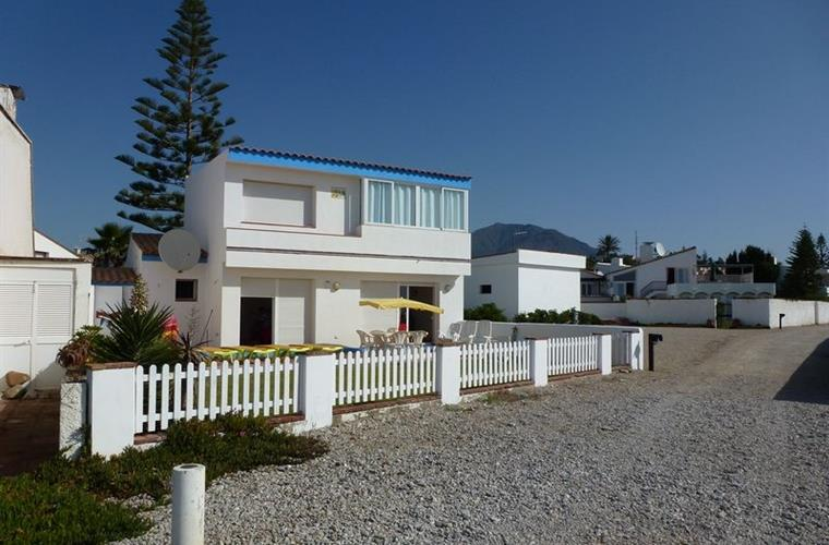 Seaside of villa