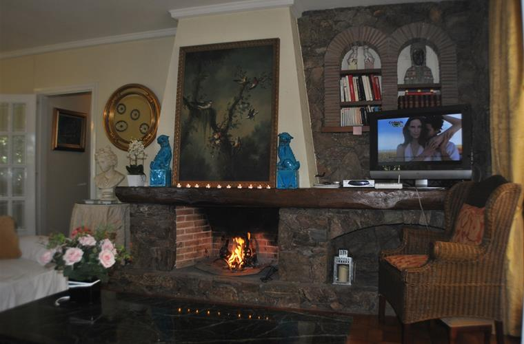 FIRE PLACE CORNER: IDEAL DURING THE WINTER