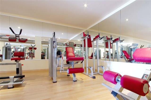 Fully equipped gym available free of charge
