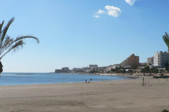 Beach of Benalmadena