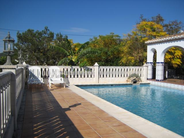TERRACE OF THE SWIMMING POOL